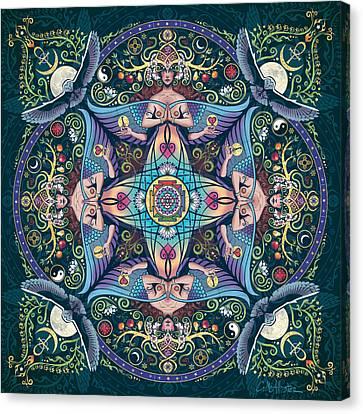 Celtic Art Canvas Print - Mystery by Cristina McAllister