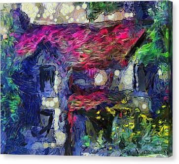 Mystery House Canvas Print by Yury Malkov