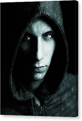 Mystery Man Canvas Print by Gun Legler