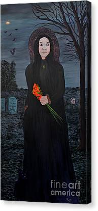 Mystery Canvas Print by Myrna Walsh