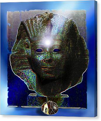 Mystery Of Egypt Canvas Print by Hartmut Jager