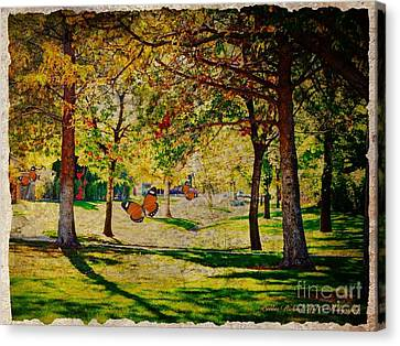 Mystery Of The Trees  Canvas Print
