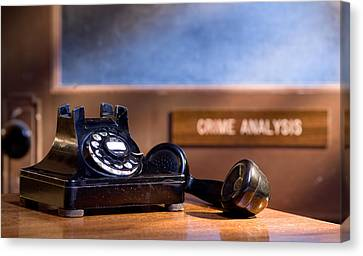 Mystery Phone Call Canvas Print