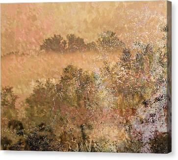 Mystery Swamp Sunrise Canvas Print by J Larry Walker