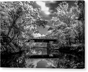 Canvas Print featuring the photograph Mystic Cuyahoga by David Stine