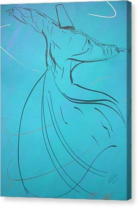 Mystic Dancer Parinda Canvas Print