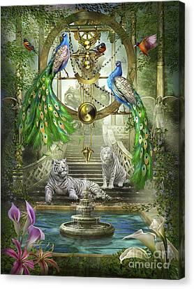 Gypsy Canvas Print - Mystic Garden by Ciro Marchetti