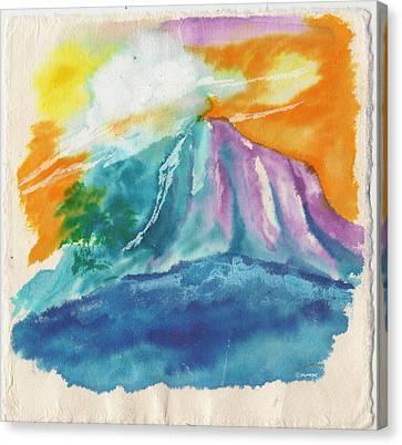 Mystic Island Canvas Print