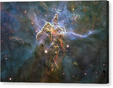 Mystic Mountain Canvas Print