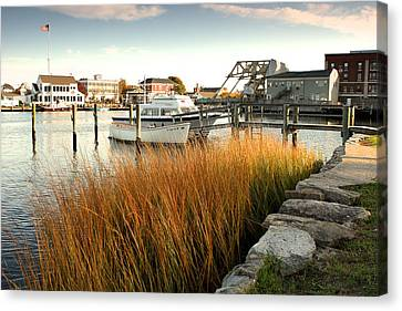 Mystic Seaport Ct Canvas Print by Gail Maloney