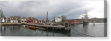 Mystic Seaport Canvas Print