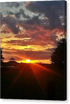 Canvas Print featuring the photograph Mystic Sky  by Joetta Beauford