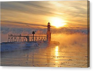 Mystic Sunrise Canvas Print