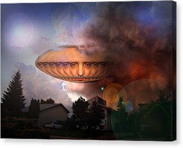 Mystic Ufo Canvas Print by Otto Rapp