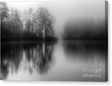 Mystical Morning Canvas Print by Deborah Scannell