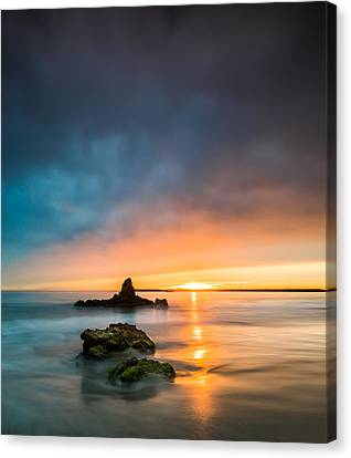 Corona Canvas Print - Mystical Sunset by Larry Marshall