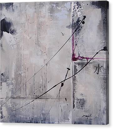Mystified Two Canvas Print by Laura Lee Zanghetti