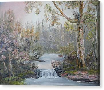 Mystifying Forest Canvas Print