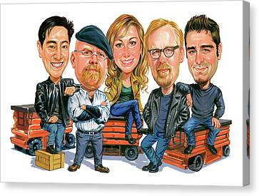 Mythbusters Canvas Print