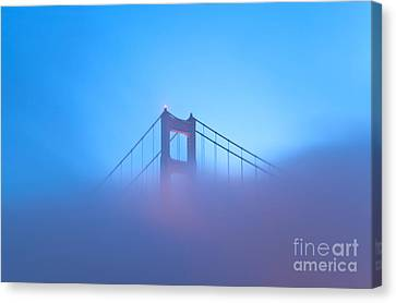 Canvas Print featuring the photograph Mythical Gate by Jonathan Nguyen