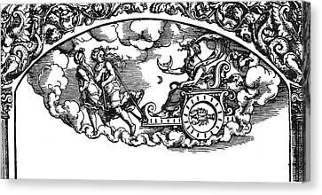Mythology Selene Canvas Print by Granger