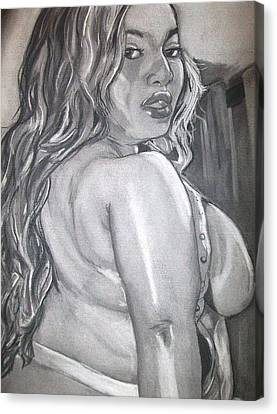 Mz Boot Canvas Print