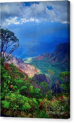 Na Pali Coast Kauai Canvas Print