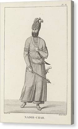 Nadir-chah Canvas Print by British Library