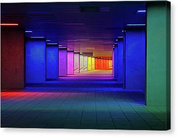 Corridor Canvas Print - Nai Rotterdam by Oliver Buchmann