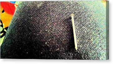 Nail Canvas Print by Billy Cooper Rice