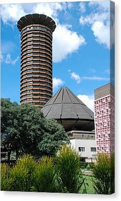 Nairobi Kenya Skyline Canvas Print by Robert Ford