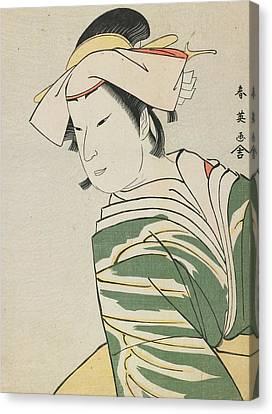 Nakamura Noshio II As Tonase Canvas Print by Katsukawa Shunei