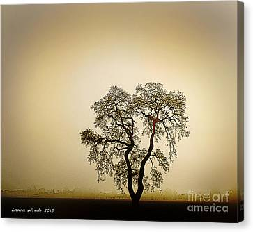 Naked Trees 4 Canvas Print