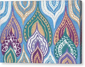 Namaste Canvas Print by Sri Devi