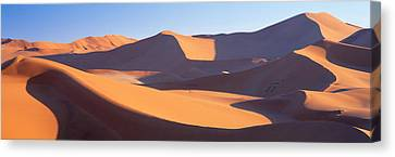 Windswept Canvas Print - Namib Desert, Nambia, Africa by Panoramic Images