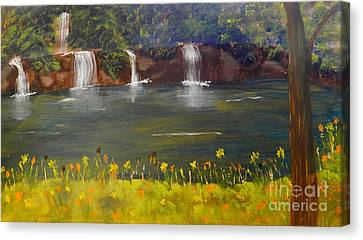 Nandroy Falls In Queensland Canvas Print