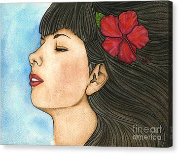 Nani Canvas Print by Nora Blansett