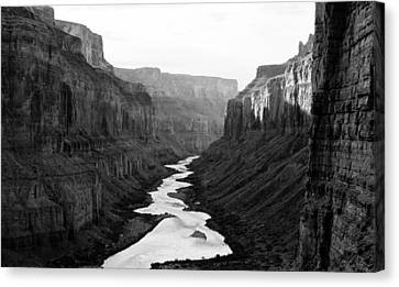 Nankoweap B-w Canvas Print by Atom Crawford