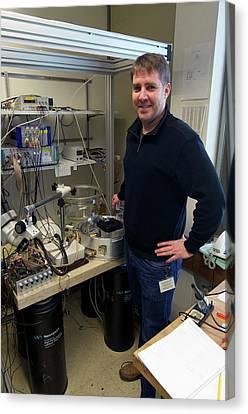 Nanopatterning Research Canvas Print