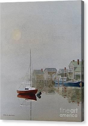 Nantucket Fog Canvas Print by Karol Wyckoff