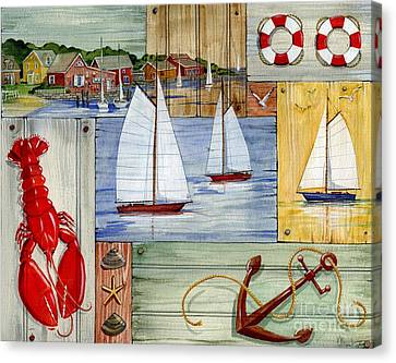 Nantucket Canvas Print - Nantucket I by Paul Brent