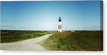 Nantucket Lighthouse Canvas Print by Natasha Marco