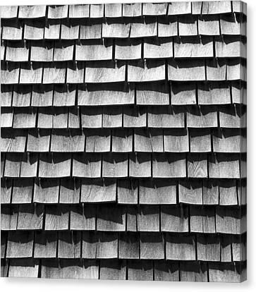Nantucket Shingles Canvas Print by Charles Harden