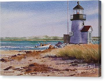 Nantucket Winter Light Canvas Print by Karol Wyckoff