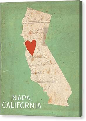 Napa Canvas Print by Katie Doucette