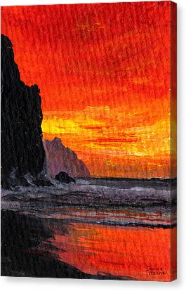 Napali  Canvas Print by Darice Machel McGuire