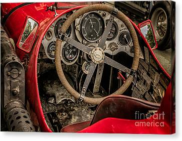 Napier Bentley Cockpit  Canvas Print