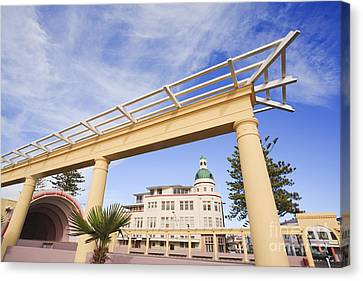 Napier New Zealand Art Deco Canvas Print by Colin and Linda McKie