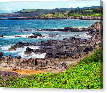 Napili 70 Canvas Print by Dawn Eshelman