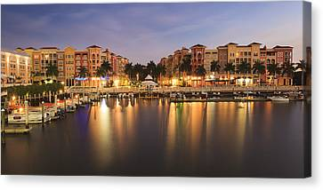 Naples Bay Canvas Print